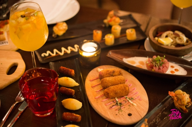 Creamy traditional Iberico ham croquettes 160 Baht